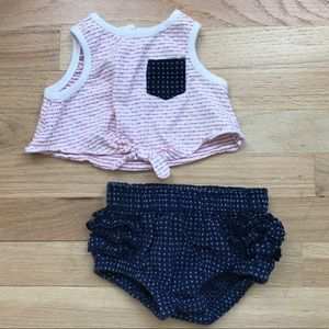 Girls crop top outfit